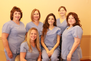 Robert J Kelly DDS & Associates hygienists picture 2013